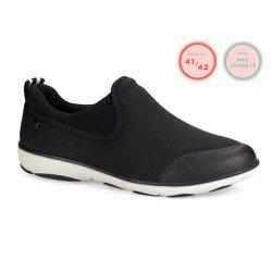 Tênis para Joanete Feminino - Preto - CAL6560 - Pé Relax Sapatos Confortáveis