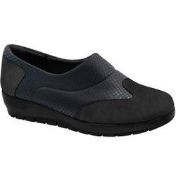 Sapato Ortopédico - Preto - MA414017PT - Pé Relax Sapatos Confortáveis