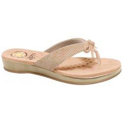 Chinelo para Esporão - Bege - MA128164B - Pé Relax Sapatos Confortáveis