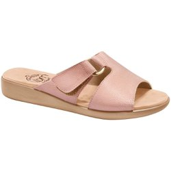 Tamanco Ortopédico Feminino - Rosado - MA14042PL - Pé Relax Sapatos Confortáveis
