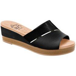 Tamanco Especial Joanete - Preto - MA360034PT - Pé Relax Sapatos Confortáveis