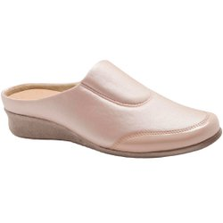 Babuche Feminino para Joanete - Bege - MA302008B - Pé Relax Sapatos Confortáveis