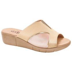 Tamanco para Joanete - Creme - MA585018C - Pé Relax Sapatos Confortáveis