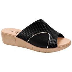 Tamanco para Joanete - Preto - MA585018P - Pé Relax Sapatos Confortáveis
