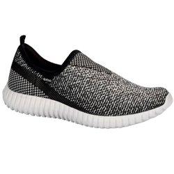 Tênis Caminhada Feminino - Cinza - KO8520CZ - Pé Relax Sapatos Confortáveis