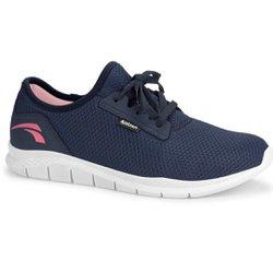 Tênis para Caminhada - Azul - KOK8681AZ - Pé Relax Sapatos Confortáveis
