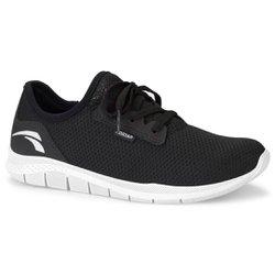 Tênis para Caminhada - Preto - KOK8681PT - Pé Relax Sapatos Confortáveis