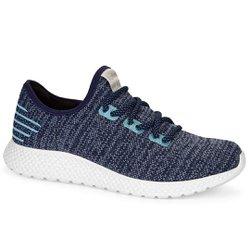 Tênis Feminino para Caminhada - Marinho - KOK8704MA - Pé Relax Sapatos Confortáveis