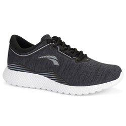 Tênis para Caminhada Feminino - Chumbo - KOK8705CH - Pé Relax Sapatos Confortáveis