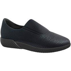 Tênis Lycra Ultra Leve - Preto - MA633004PT - Pé Relax Sapatos Confortáveis