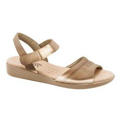 Sandália Feminina Anatômica - Bronze - MA14018BZ - Pé Relax Sapatos Confortáveis