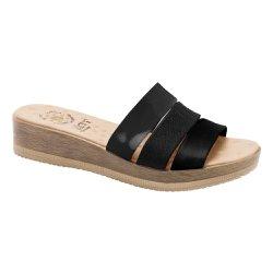 Tamanco Ortopédico Feminino - Preto - MA537021P - Pé Relax Sapatos Confortáveis