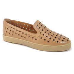 Tênis Feminino Confort - Marrom - VP29618 - Pé Relax Sapatos Confortáveis