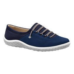 Tênis Lycra Feminino - Azul Old - MA421028AO - Pé Relax Sapatos Confortáveis