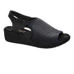 Sandália Proteção Dos Pés - Preta - MA585011P - Pé Relax Sapatos Confortáveis