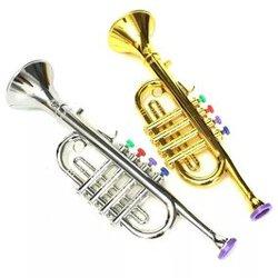 Trompete - Brinquedo Com Teclas Coloridas - Brinqu...