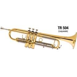 Trompete Sib Laqueado Eagle - TR 504