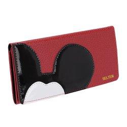 Carteira Feminina Selten Mickey Vermelha