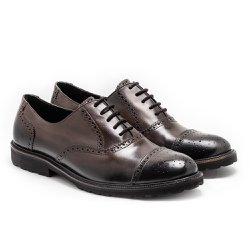 69ce4418fb Sapato Masculino Oxford Cap - Cor: Amêndoa