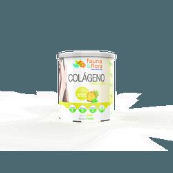 Colágeno Hidrolisado com Silício Orgânico zero Malto sabor Abacaxi com Hortelã 300g