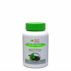 Pholia Negra Vitamina A, c e e Zinco 500mg - 30 cápsulas
