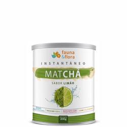 Chá Instantâneo de Matchá Termogênico sabor Limão 200g