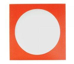 Envelope Papel c/ Visor Vermelho - Cx/ 1.000un.