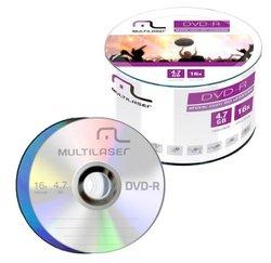 Dvd-r Multilaser 4.7gb /16x - Logo c/600un.