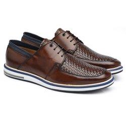 Sapato Casual Conhaque 176080