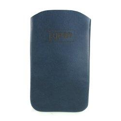 Porta Celular 100% Em Couro Navy J.Gean