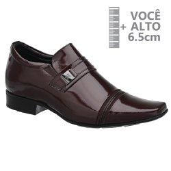 Sapato com Salto Interno Vinho Jota Pe Grow Air Connar