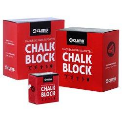 Carbonato De Magnésio Chalk Block 56g 4climb - 16 unidades