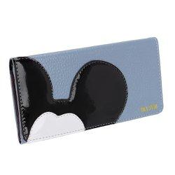 Carteira Feminina do Mickey Azul Claro - Selten