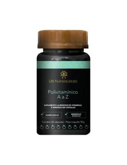 Polivitamínico A a Z 60 cápsulas – Life Nutraceuti... - LIFEMANIPULACAO