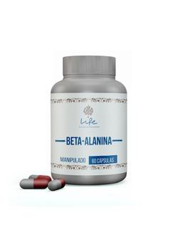 Beta Alanina 500mg - 60 cápsulas - 56 - LIFEMANIPULACAO