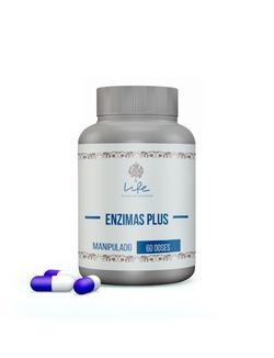 Enzimas Plus - 60 Doses - Enzimes - LIFEMANIPULACAO