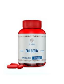 Goji Berry 500mg - 60 Doses - GojiBerry - LIFEMANIPULACAO