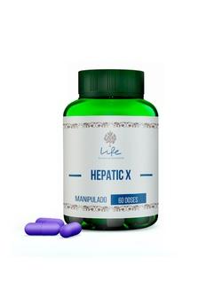 Hepatic-X - 60 Doses - Hepatic-X - LIFEMANIPULACAO