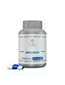 Magnésio Quelato 200mg - 30 Doses - Magnesio - LIFEMANIPULACAO