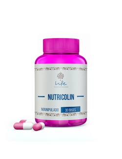 Nutricolin 300mg - 30 Doses - Nutricolin - LIFEMANIPULACAO