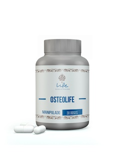 OSTEOLIFE COMPLEXO Vit K2 + Magnésio Dimalato + Cá... - LIFEMANIPULACAO