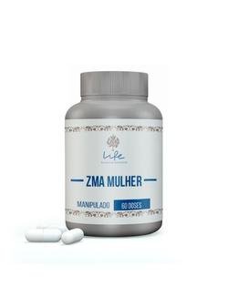 Zma Mulher (zinco 20mg, Magnesio 300mg, Vit B6 10,... - LIFEMANIPULACAO