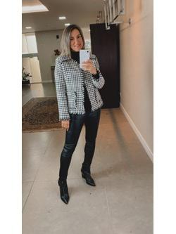 Blazer Tweed Iris - Patricia Rios