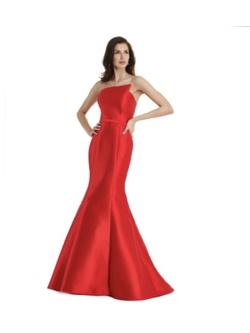 Vestido Zibeline de Seda Vermelho - Patricia Rios