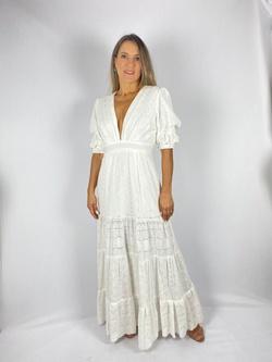 Vestido Jully Mik Off White - Patricia Rios
