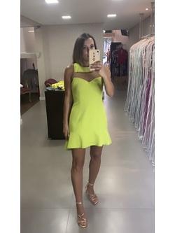 Vestido Bolonha Lima - Patricia Rios