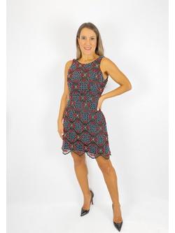 Vestido Frente Única Preto - Patricia Rios