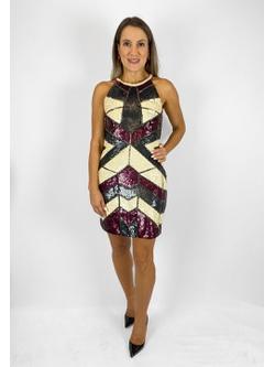 Vestido Color Preto - Patricia Rios