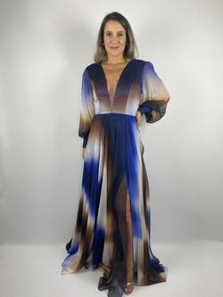 Vestido Aurora Azul - Patricia Rios