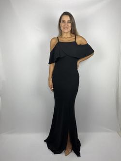 Vestido Semi Sereia Preto - Patricia Rios